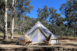Glamping Tents In The Australian Outback Boobook Ecotours